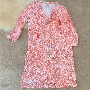 Persifor pink leopard dress, Sz S